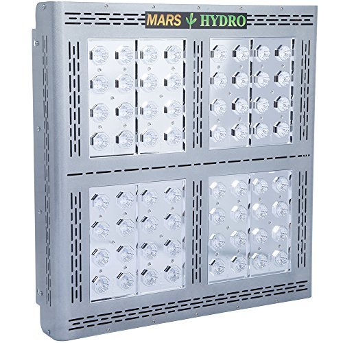 MarsHydro Led Grow Light - Pro II Epistar320 Full Spectrum for Hydroponics Indoor Greenhouse Plants Veg and Flower (Mars Ii 400w Led Grow Light compare prices)