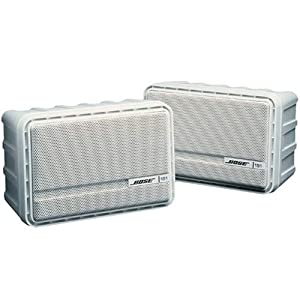 Amazon Com Bose 151 Indoor Outdoor Speaker Pair White