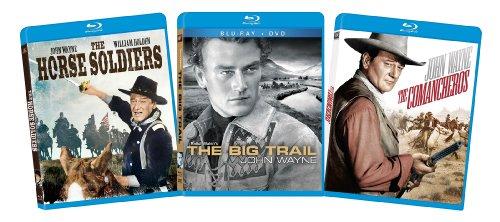 John Wayne Blu-ray Bundle (The Horse Soliders, The Big Trail, The Comancheros)