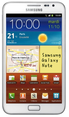 Samsung Galaxy Note 16GB Smartphone - White