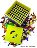 BOX4BLOX Toy Storage Organizer Sorts Plastic Bricks By Size