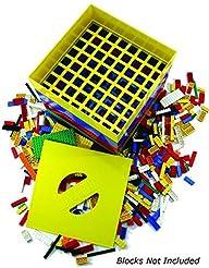 BOX4BLOX Toy Storage Organizer Sorts and Stores Interlocking Plastic Blocks By Size   Compatible…