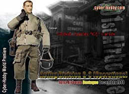 サイバーホビー WW2 アメリカ陸軍 第3予備役師団 第101空挺師団 大佐「チャールズ 'キット' カーソン」 バストーニュ 1944年12月 (ジャンパー付属)