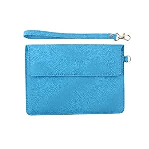 DooDa PU Leather Pouch Case Cover With Magnetic Closure & Video Viewing Stand For Dell New Venue 8 7000 Series