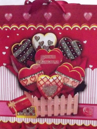 Valentine's Day Pop-Up Heart Gift Bag (Styles May Vary)