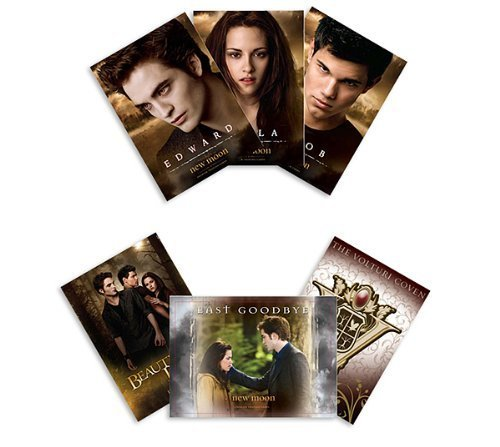 The Twilight Saga: New Moon Merchandise - Trading Cards (Pack Of 6 Cards) - 1