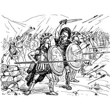 Zvezda Models 1/72 Spartans The Greek Warriors