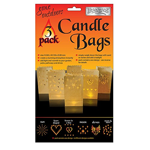 Boyz Toys Candle Bag 3 Pack (Assorted)