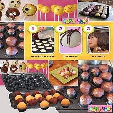 Bake Delicious Cake Pops Make 18 Pops ovenware