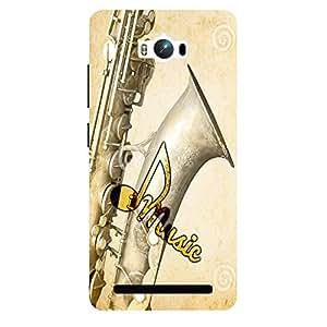 Musical Instrument - Mobile Back Case Cover For Asus Zenfone Max ZC550KL