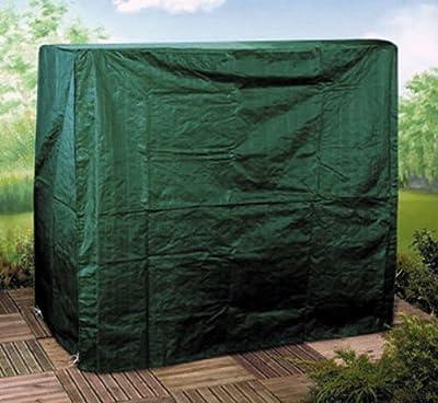 Strapazierfähige wasserfeste Schutzhülle mit Reißverschluss für 3-er Hollywoodschaukel von Gardenmile bei Gartenmöbel von Du und Dein Garten