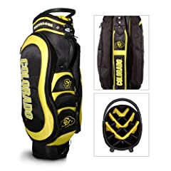 Brand New Colorado Golden Buffaloes NCAA Cart Bag - 14 way Medalist by Things for You