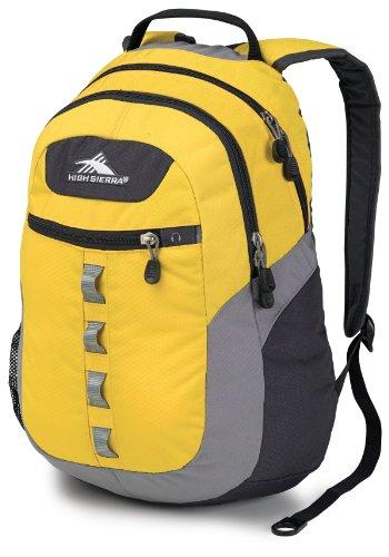 High Sierra Opie Backpack, Yell-O/Ash/Mercury front-1056761