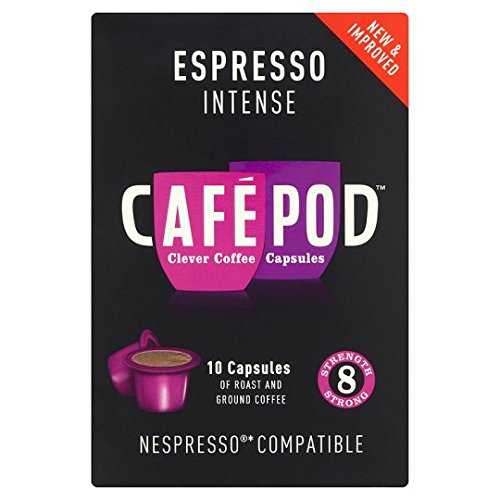 Order Cafepod Intense 8 Coffee Pods 10 Servings from Cafepod