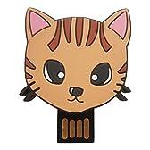 猫雑貨 にゃんUSBメモリ 8GB 茶トラ