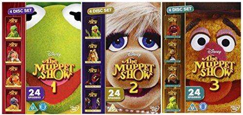 The Muppet Show Season 1-3 : Complete Season 1 / Season 2 / Season 3 with 72 episodes (The Muppet Show Season 1 compare prices)