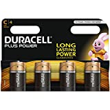 Duracell MN1400 Plus Power C Size Batteries--Pack of 4