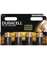 Duracell Pile Alcaline Plus Power C x4
