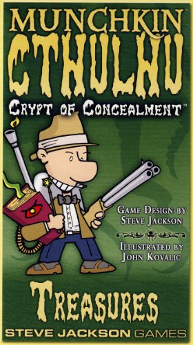 Munchkin Cthulhu Crypts Of Concealment - 1