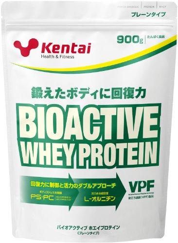 Kentai バイオアクティブ ホエイプロテイン プレーンタイプ 900g: 健康体力研究所