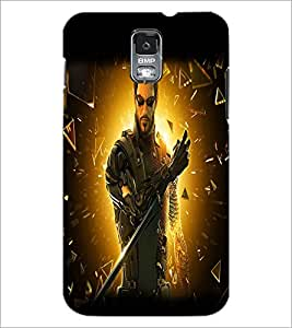 PRINTSWAG ACTION MAN Designer Back Cover Case for SAMSUNG GALAXY S5 MINI
