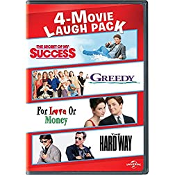 4-Movie Laugh Pack: The Secret of My Success / Greedy / For Love or Money / The Hard Way