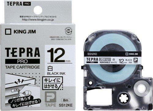 King Jim Bandkassette Tepla PRO abziehen Etiketten 12 mm SS12KE