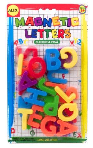 ALEX Toys Artist Studio Magnetic Letters