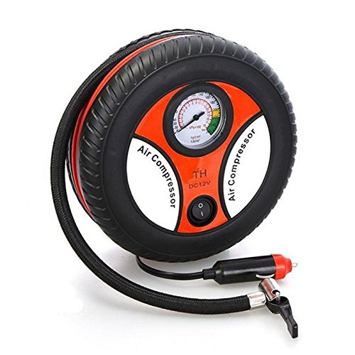 cy mini portable car air compressor dc 12v auto inflatable pumps electric tire inflaters 260psi. Black Bedroom Furniture Sets. Home Design Ideas