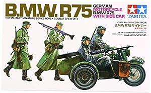 Tamiya 300035016 - 1:35 WWII Bmw R75 mit Seitenwagen (4)