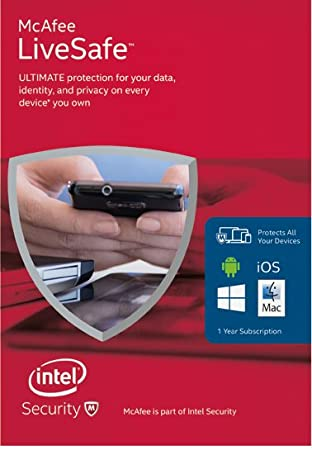 McAfee LiveSafe 2016 Unlimited Device [Online Code]