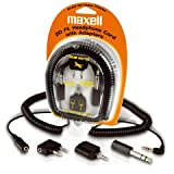 MAXELL 190399 Headphone Extension Cord & Adapters