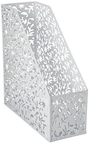 Design Ideas Vinea Magazine File/Holder, White