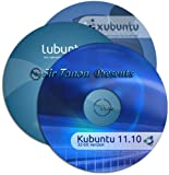 Kubuntu 11.10 - 3 Disk Set [ Kubuntu, Lubuntu, and Xubuntu ] - plus Quick-Reference Guide