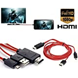 Generic Alltech Devices, MHL MIcro USB to HDMI 1080P HD TV Cable Adapter for Samsung Galaxy S3 S4 S5 Note 2 Note 3