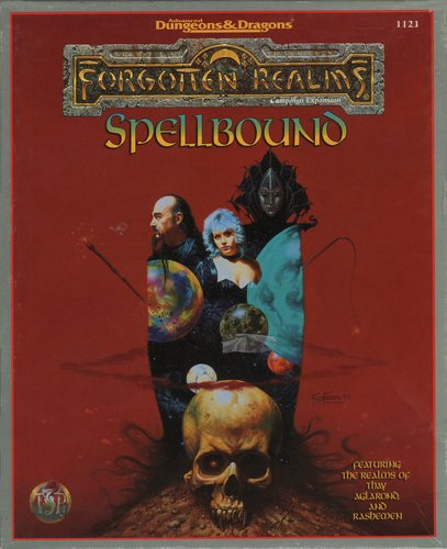 Spellbound: Thay, Aglarond, and Rashemen (AD&D Forgotten Realms)  BOX SET