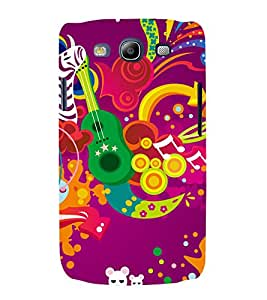 printtech Music Abstract design Back Case Cover for Samsung Galaxy S3 Neo / Samsung Galaxy S3 Neo i9300i