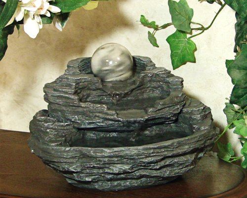 Gifts & Decor Rock Design Gift Indoor Tabletop Desktop Water Fountain