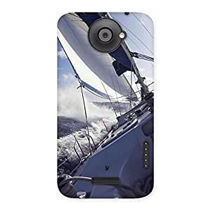Special Floating Boat Back Case Cover for HTC One X
