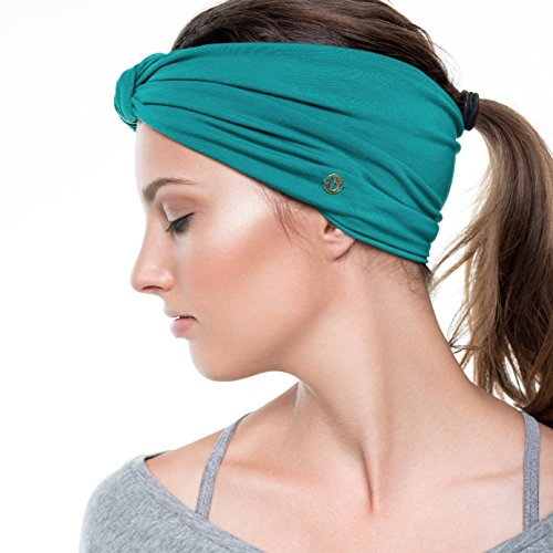 BLOM 10-in-1 Headband. For Sports or Fashion. Happy Head Guarantee - Super Comfortable. Love It or Your Money Back. Sweat Wicking and Non Slip.