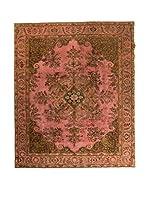 CarpeTrade Alfombra Deluxe Persian Vintage (Marrón/Salmón)