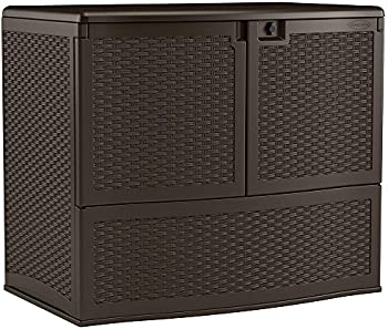 Suncast VDB19500J 195 Gal. Backyard Oasis Vertical Deck Box