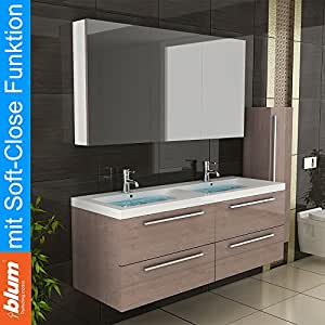 Bathroom furniture bathroom sink double washstand bathroom Double sink washstand
