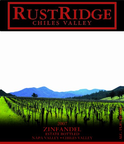 2007 Rustridge Estate Zinfandel, Napa Valley 750 Ml