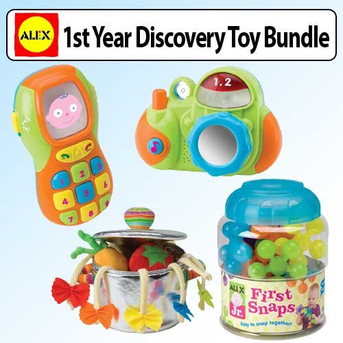 Baby's First Year Discovery Toy Bundle