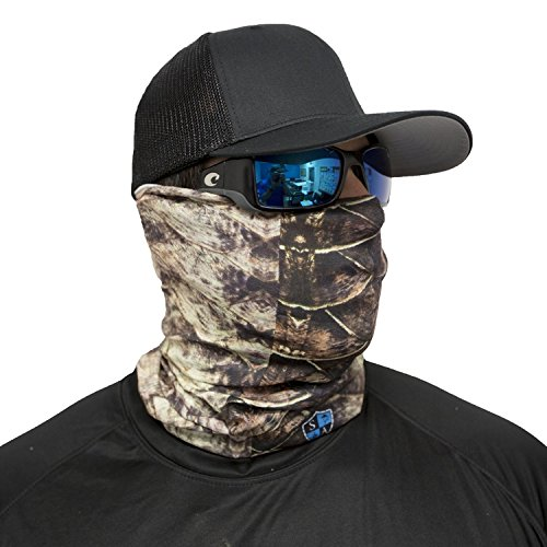 Sa company tarpon skin face shield fits all tarpon skin for Sa fishing face shield