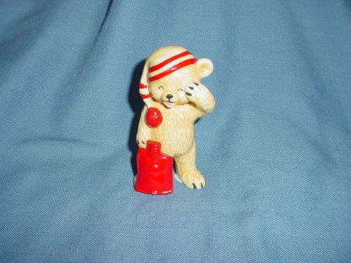 Danbury Mint Sleepy Bear Bone China Figurine