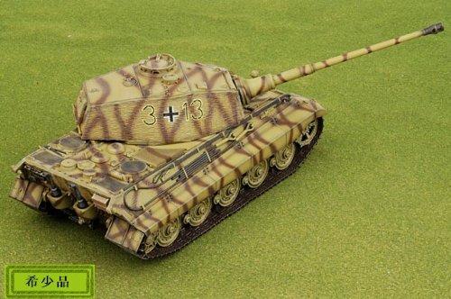 1:35 ドラゴン モデル 1:35 Armor 61011 Henschel/Porsche Sd.Kfz.182 King Tiger ディスプレイ モデル German Army 3./sPzA