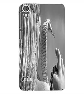 ColourCraft Lord Shiva Design Back Case Cover for HTC DESIRE 820