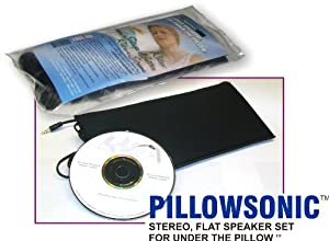 Pillowsonic Stereo Pillow Speaker